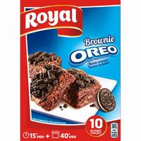 Royal Brownie oreo 375g