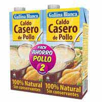 Gallina Blanca Caldo casero de pollo pack 2l
