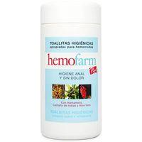 Hemofarm Tovalloletes higiéniques per hemorroides plus 60u