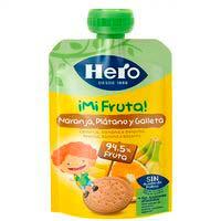 Hero Nanos ¡Superfruta| naranja, plátano y galleta 100g