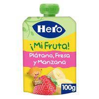 Hero Nanos ¡Superfruta| plàtan i maduixa 100g