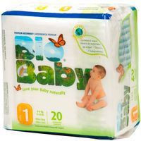 Bio Baby Pañal ecológico talla 1 de 3-6kg 20u