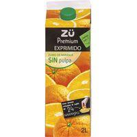 ZÜ Suc taronja espremut sense polpa 2l