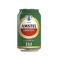 Amstel Clàssica Cervesa llauna 33cl