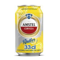 Amstel Radler Cerveza limón lata 37,5cl