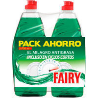 Fairy Lavavajillas duplo 750ml