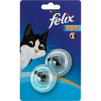 Felix Juguete pelotas giratorias transparentes