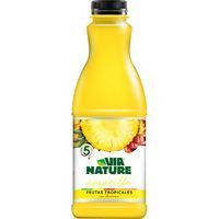 Via Nature Zumo refrigerado fruta tropical 900ml