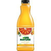 Via Nature Zumo refrigerado naranja sanguina 900ml
