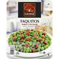Navidul Taquitos jamón 135g