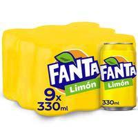 Fanta Llimona llauna 9x33cl