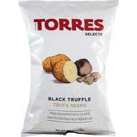 Torres Chips trufa negra 125g