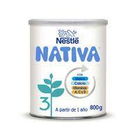 Llet de creixement NESTLÉ Nativa 3, llauna 800 g