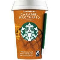 Cafè de caramel macchiato STARBUCKS, got 220 ml