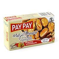 Pay Pay Mejillones picantes16/20 115g