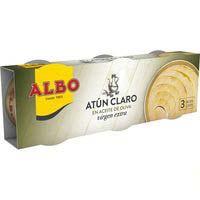 Albo Atún claro oliva 3x65g