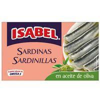 Isabel Sardinilla aceite de oliva 57g