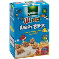 Gullon Galleta Dibus Angry birds 250g
