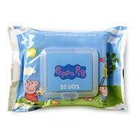 Peppa Pig Tovalloletes cara/mans 20u