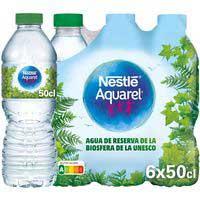 Aquarel Aigua mineral 6x50cl