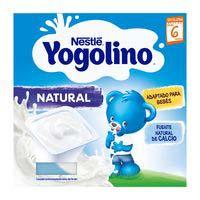 Yogolino natural NESTLÉ, pack 4x100 g
