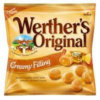 Werther 's Caramels farcit cremós borsa 135g