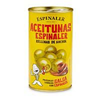 Espinaler Aceitunas rellenas 350g. MARESME
