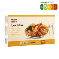 Eroski Basic Langostino cocido 35/42 700g