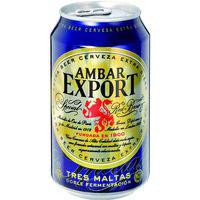 Ambar Export Cerveza extra lata 33cl