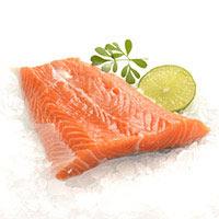 Supremas de salmón 2 uni. aprox. 200g
