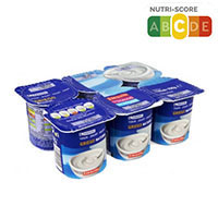 Eroski Yogur Griego natural 6x125g