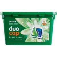 Detergent en càpsulesduoEROSKI, caixa 18 dosi