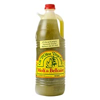 Molí de Bellcaire Aceite de oliva virgen extra 2L. NOGUERA