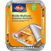 Motlle d'alumini multiús amb tapa22x17cm ALBAL,pack3 uni.