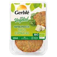 Gerblé Bio Hamburguesa tofu espinacas 160g