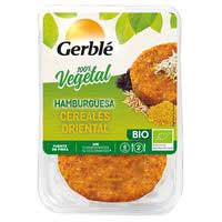 Gerblé Bio Hamburguesa cereales oriental 160g