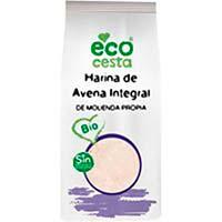 Harina de avena integral bio ECOCESTA, bolsa 500 g