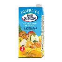 Don Simon Néctar multivitaminas bajo en calorías 2l
