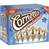 Cornetto Mini Clàssic gelat 6x60ml