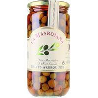 La Masrojana Aceitunas arbequinas con hueso 450g