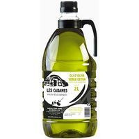 Les Cabanes Oli d'oliva verge extra 2L. LES GARRIGUES