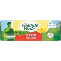 Gigante Verde Maíz dulce 3x160g