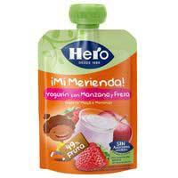 Hero Nanos ¡Super Berenar| iogurt amb maduixa 100g