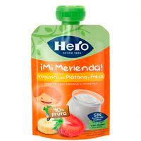 Hero Nanos ¡Super Berenar| Iogurt amb maduixa i plàtan 100g
