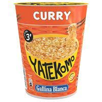 Yatekomo curry cup 61g