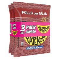 Yatekomo pollo soja bag pack 3