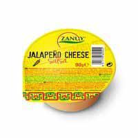 Zanuy Salsa cheddar jalapeño 90g