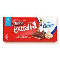 Nestlé Extrafino Rajola de xocolata amb llet La Lechera 120g