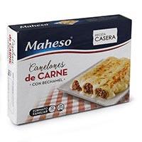 Maheso Canelones de carne 1kg