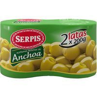 Serpis Olives farcides 2x85g